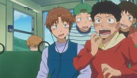 Taijima realizes he forgot to fwap before the trip.