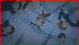 "Mihashi still unable to sleep. Mihashi asks himself, ""Am I not cutout to be pitcher?"""