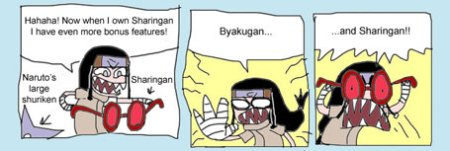 Sample from Stupid Sakura Project comic 19