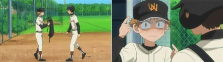 Jab at Mihashi.