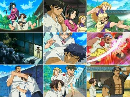 Kenichi 4 screencaps