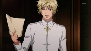 Osaki Kaname of the House of Osaki, one of the Four Families of Demon Gods, an agent of the church.