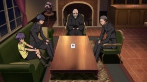 I swear I've seen that ugly green couch before, in other anime.